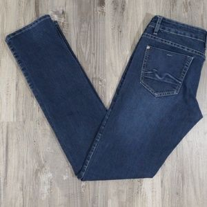 7 For All Mankind GWENEVERE Jeans, Size 27